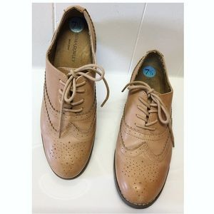 Cynthia Rowley | 'Honey' Leather Wingtip Oxfords
